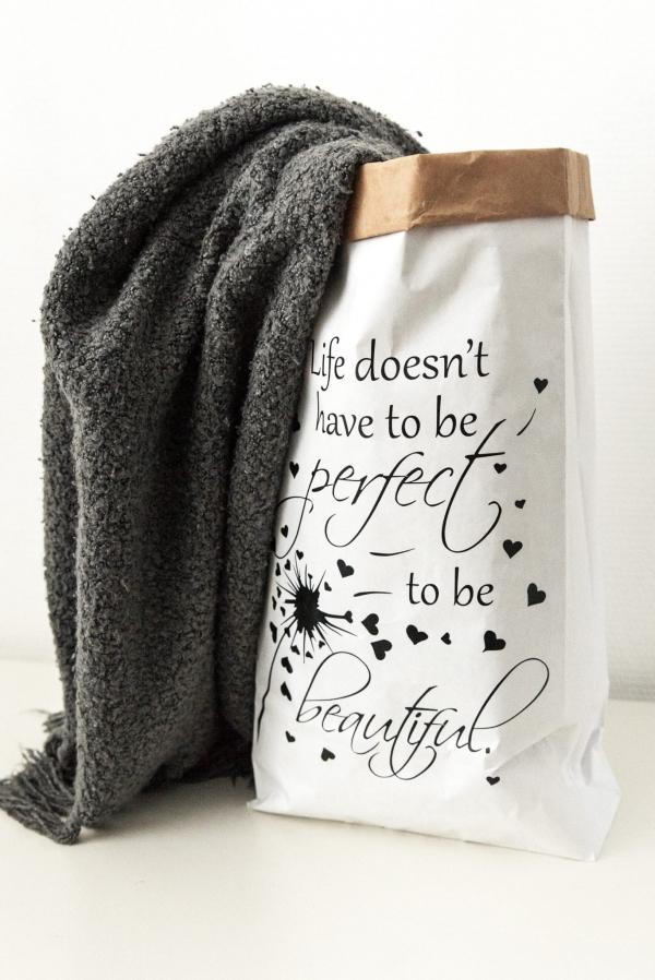 Paperbag met opdruk naar wens
