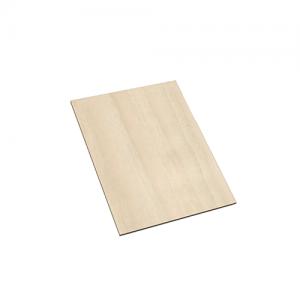 Houten kaart 20 x 15 cm
