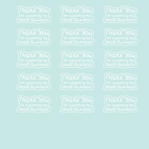 Stickers en kaartjes